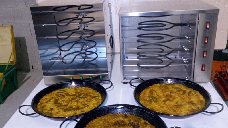 horno para paella